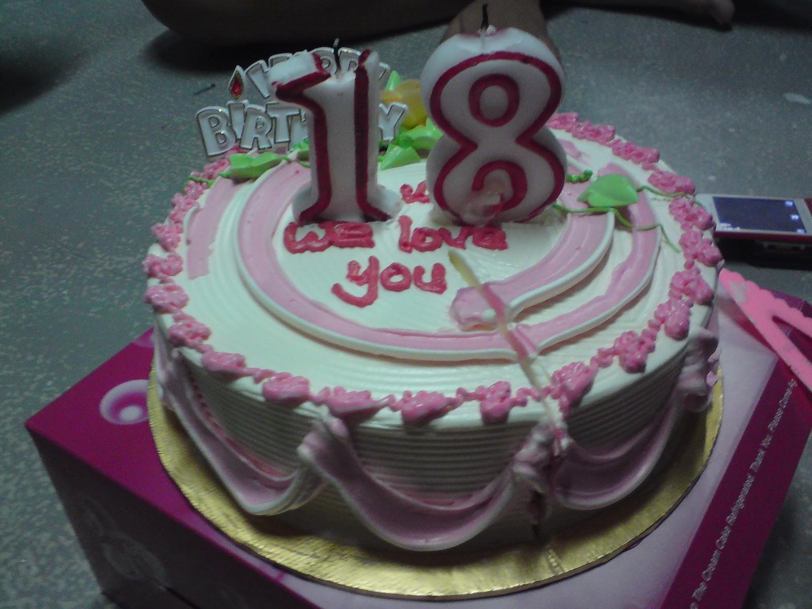 Crystallynna S Life My 18th Birthday Cake