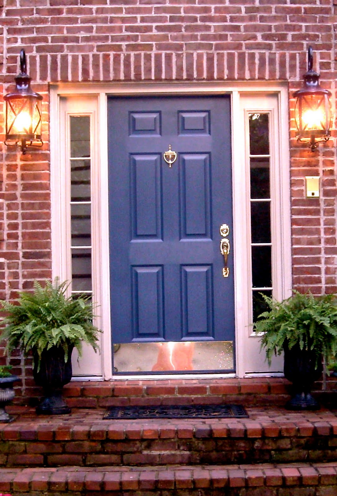 Light Color Brick House European Amp French Country