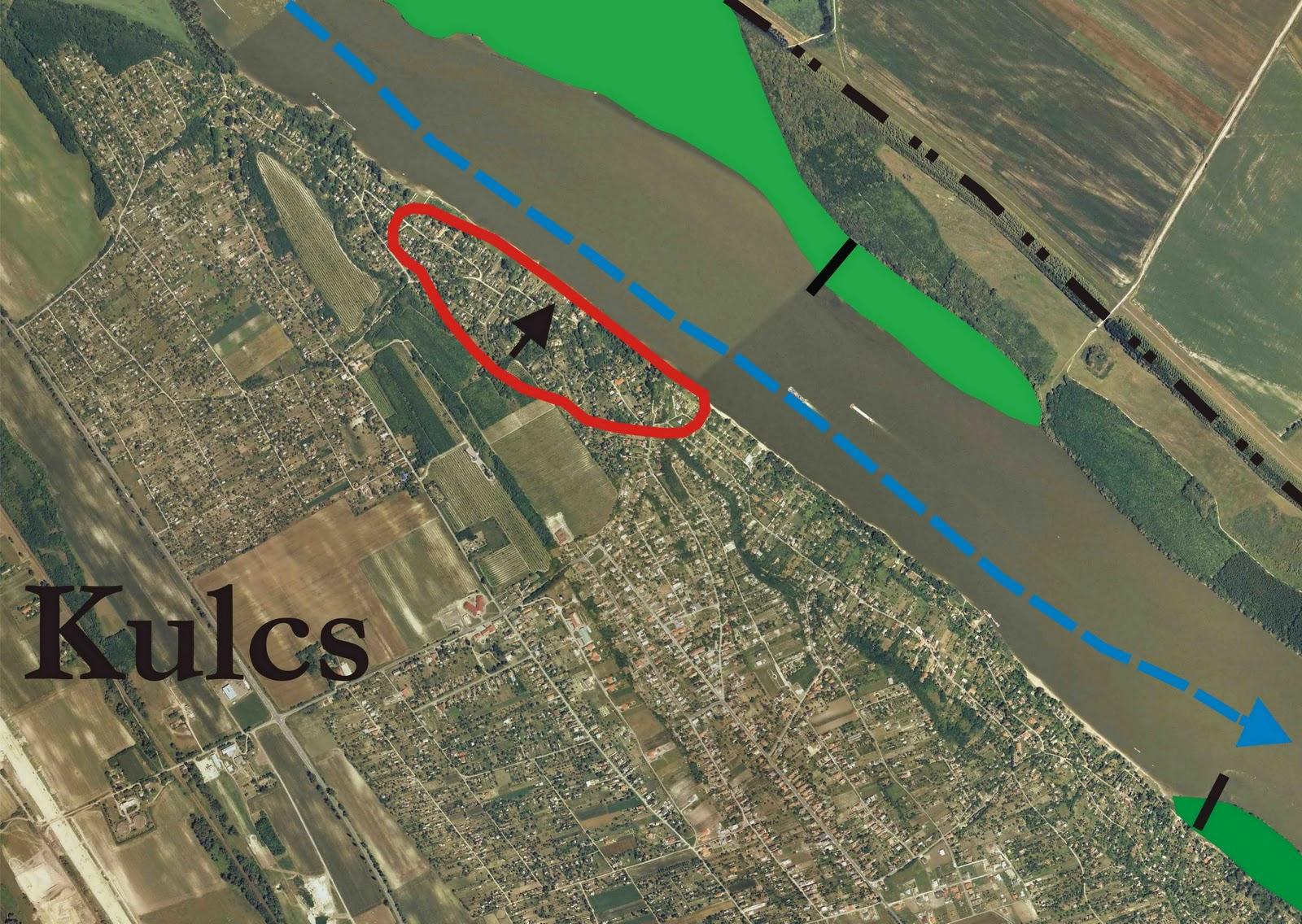 kulcs térkép Dunai Szigetek: Löszfalomlás a Duna szabályozás következtében 2011  kulcs térkép