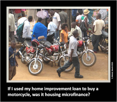 Housing and Microfinance: Housing Microfinance Is More Than