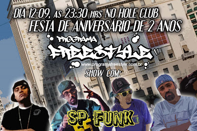 Festa de 2 anos do Programa Freestyle!
