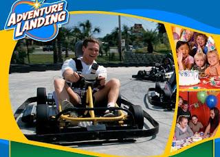 Go Karts Jacksonville Fl >> Adventure Landing | Coupon Saving Family