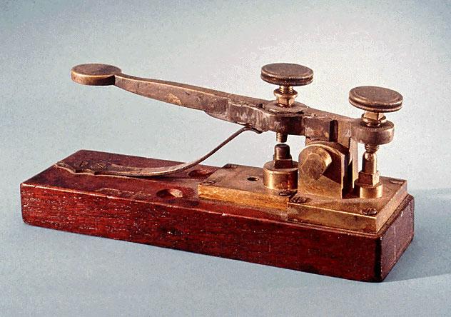 first telegraph machine -#main