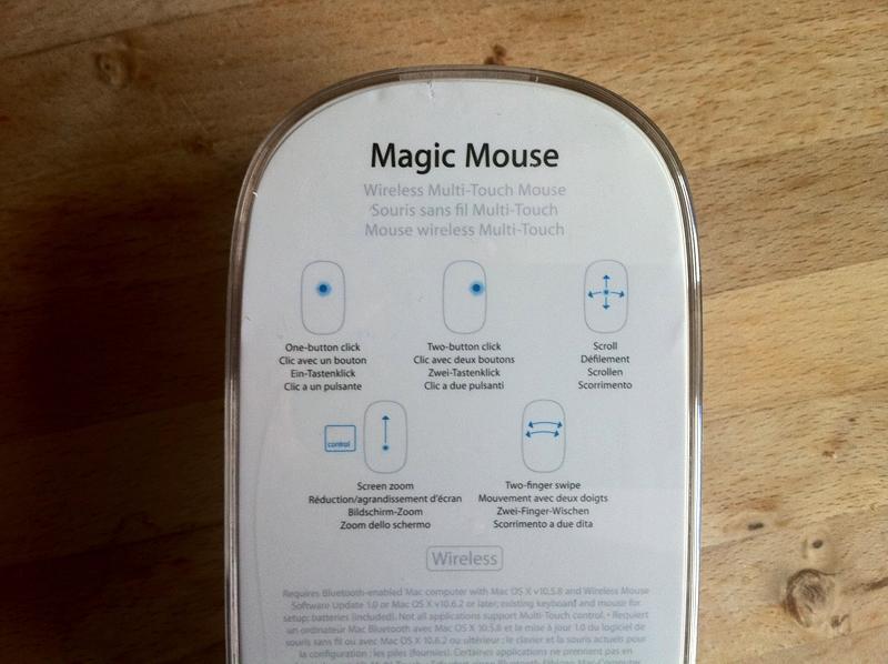 Apple's Magic Mouse hasn't got a clue | uselog com | the product