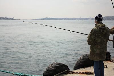 Fisherman in Ortaköy