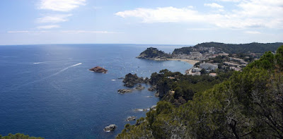 Tossa de Mar from the Ronda Way in La Costa Brava