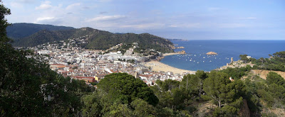 Tossa de Mar from the Ronda Way