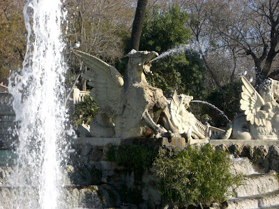 Dragon in Ciutadella Park