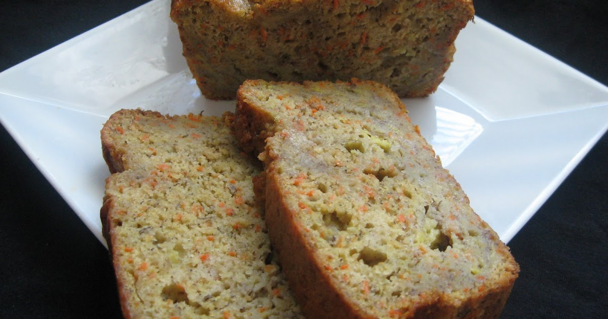 Low Calorie Loaf Cake Recipes: Healthy Recipes: Low Fat- Banana Carrot Loaf