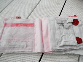 baby quiet book no felt levis and raw edged ideas
