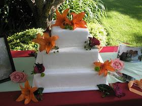 marshmallow fondant wedding cake