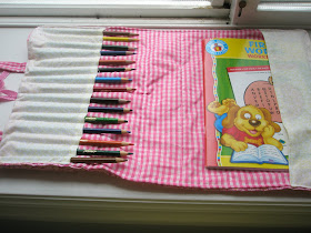 Pencil and Notebook Case Sewing Pattern by A Vision to Remember