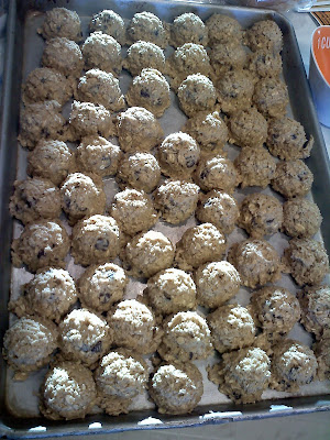 Cookie Dough Bits for the Freezer