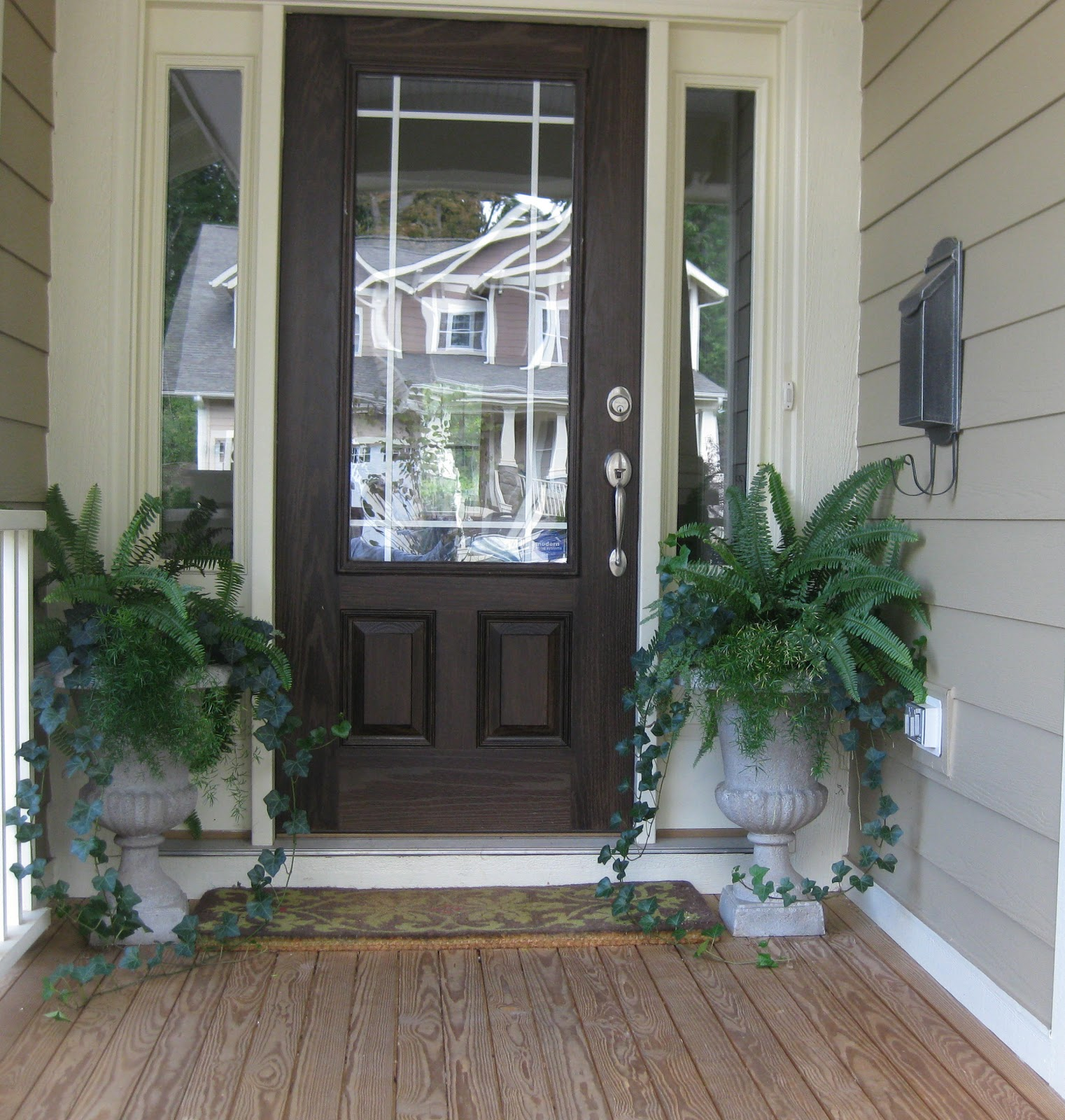 Flowers For Front Door: Embellish: Special Occasions: Fall Exterior