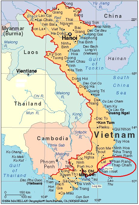 Vietnam Adventures Road Trip Section 3 Mui Ne To Phan Rang