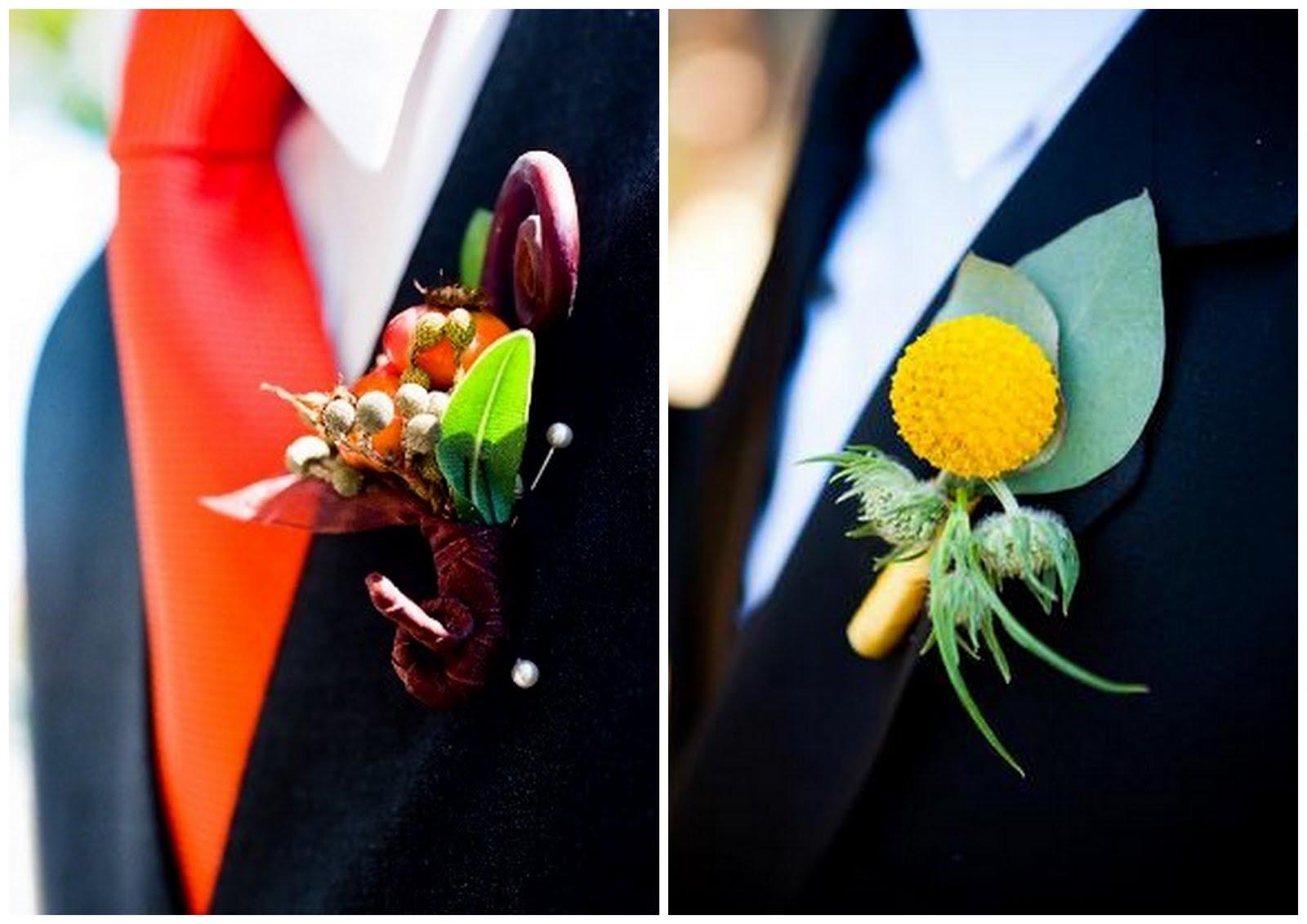 How To Make Wedding Buttonholes: Always Andri Wedding Design Blog: Wedding Inspiration