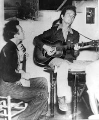 Pete Seeger and Woody Guthrie