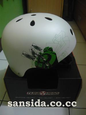 Sepeda Sansida: Helm Sepeda