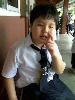 William at school- Year 1, 2010
