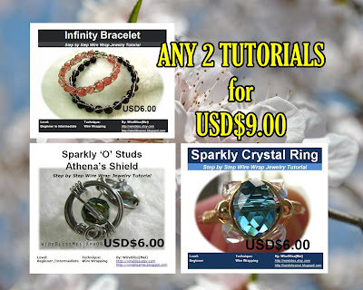 Choose ANY 2 of these 3 tutorials from the $6.00 category for $9.00 instead of $12.00. Saved $3.00 (25%)