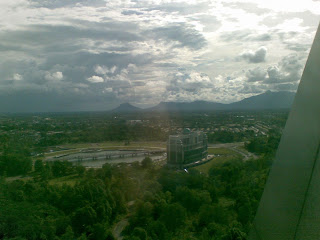Another view of the city from the 19th Floor of Menara Pelita