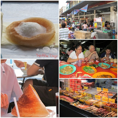 Penang Hawker food is very popular
