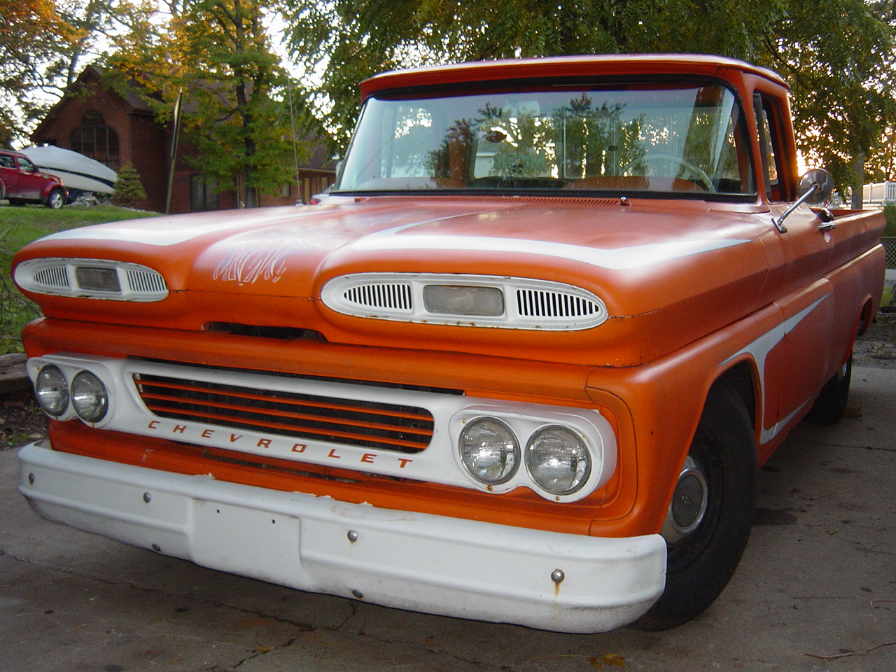 60s Chevy Truck >> Road to Glory: 60 chevy truck