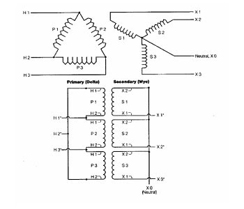 3 phase delta transformer wiring diagram free download the electric online: one phasetransformer and three phase ... #8