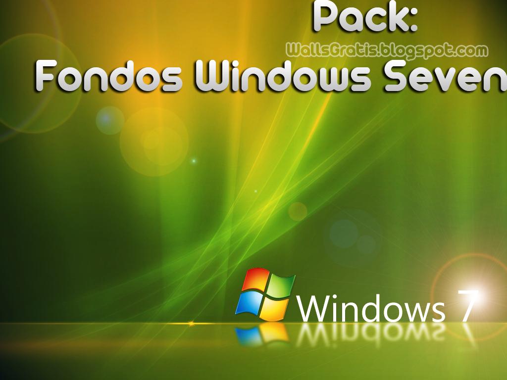 Windows 7 Seven Wallpaper Fondos De Escritorio Wallpapers: Fondos De Escritorio: Windows Seven 7