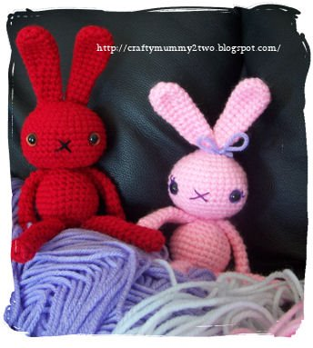 Gloomy Gurumi Easter Bunny - Easter #crochet