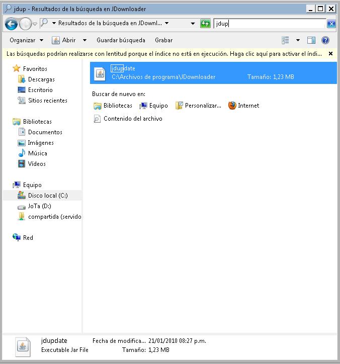 Solucion plugin/complemento desactualizado de JDownload