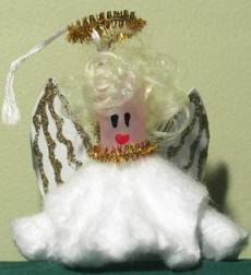 Snowflakes Angel Crafts Paper
