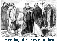 jethro and moses relationship
