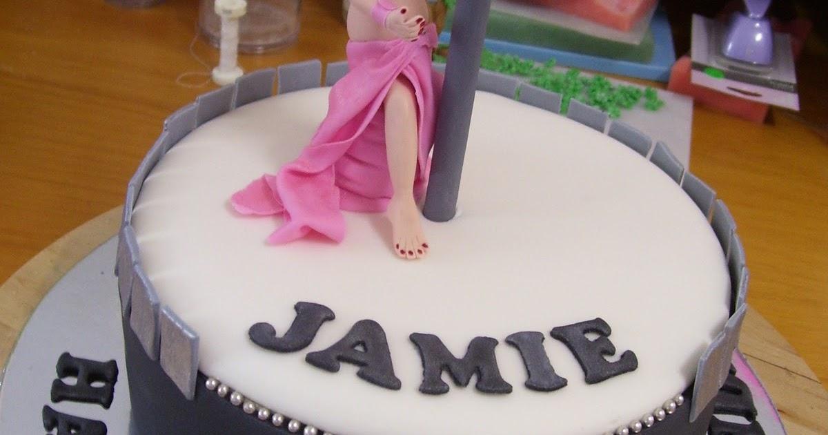 2cute2cut Com Pole Dancer Cake