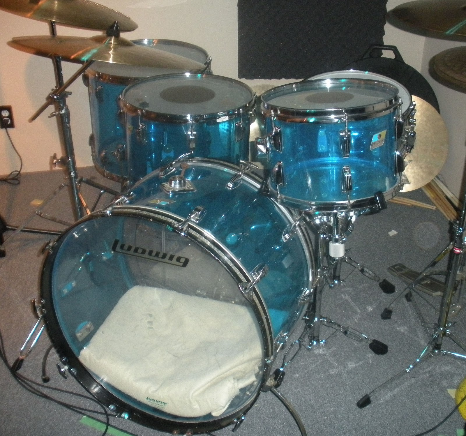 Ludwig Vista Lite Drums : my cubase studio ludwig vistalite drums ~ Hamham.info Haus und Dekorationen