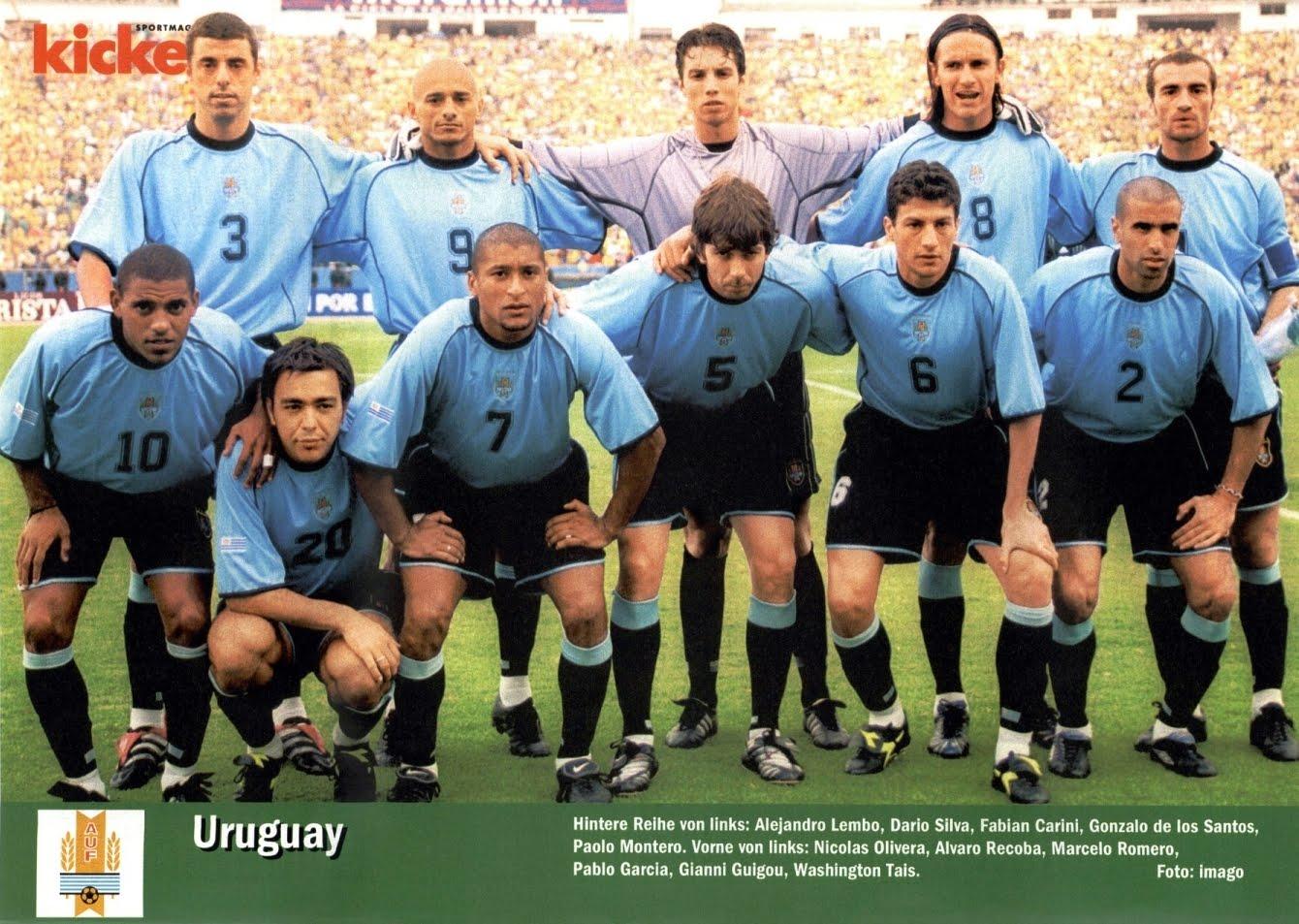 Futebol uruguai
