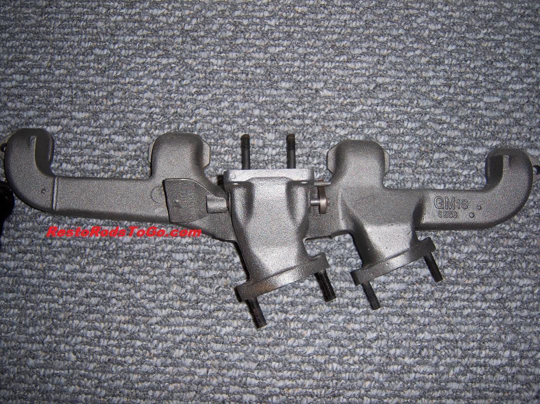 235 261 Chevrolet Split Dual Exhaust Headers For Sale