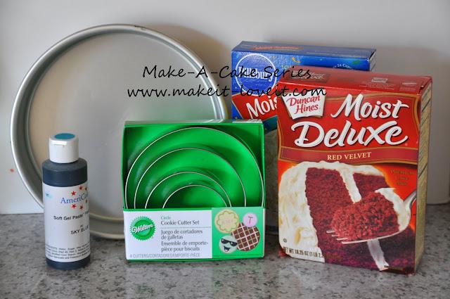 Make A Cake Series Flag Cake Make It And Love It