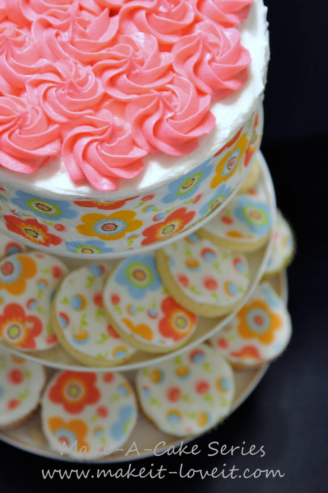 Make A Cake Series Cake Tattoo Make It And Love It