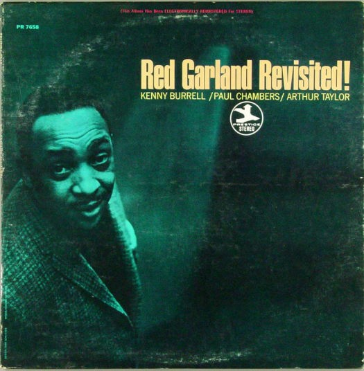 Thank You Bob Weinstock: PR 7658 Red Garland Revisited