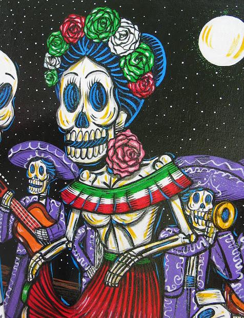 DIA De Los Muertos Day of the Dead Mexico