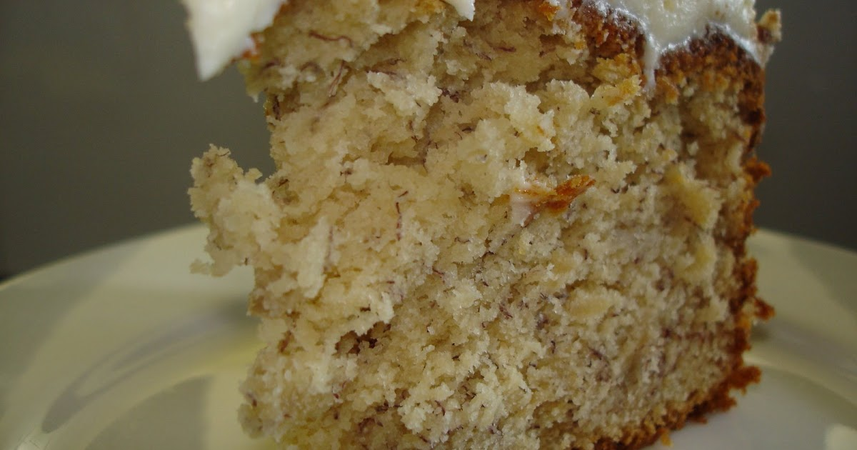 Banana Cake Without Electric Mixer