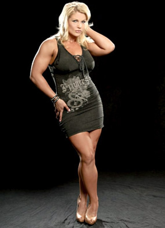 Muscular Womens Dressed Beth Phoenix-6921