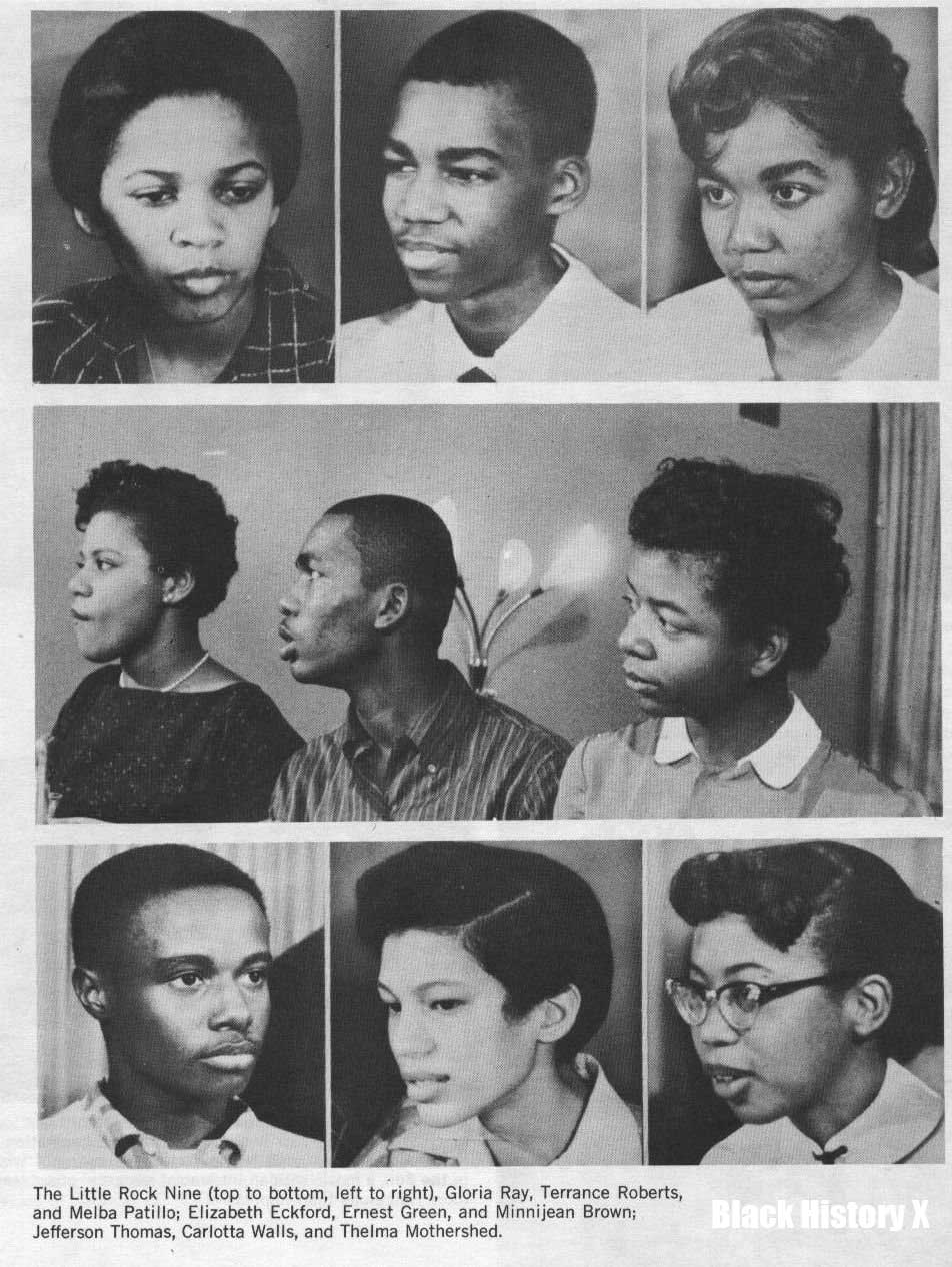 what was the little rock nine crisis