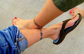 Ankle band tattoo designs