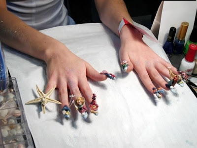 Extremeand Cool Nails Design ~ Somethin Bizarre