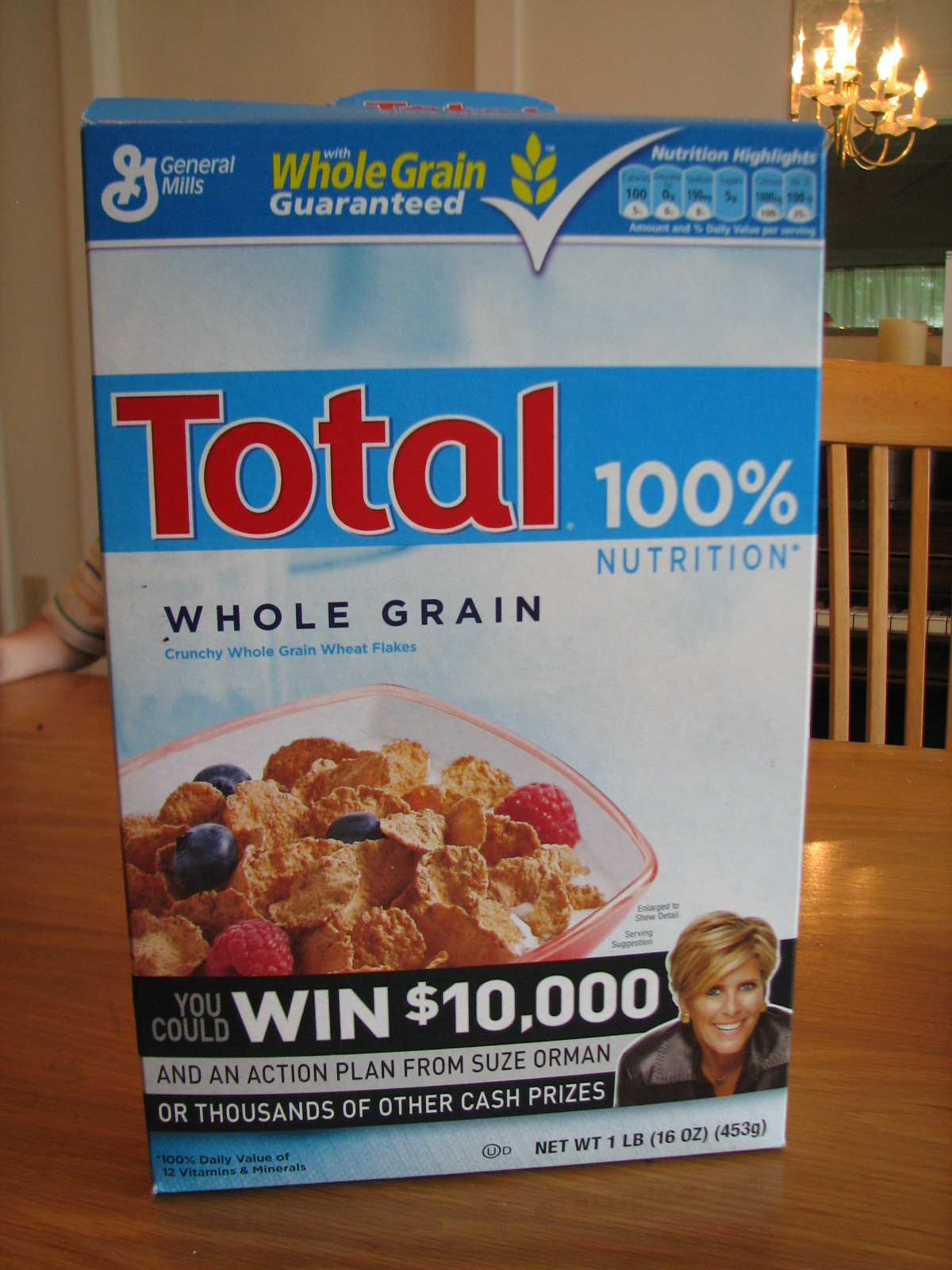 science matters total cereal iron fortified