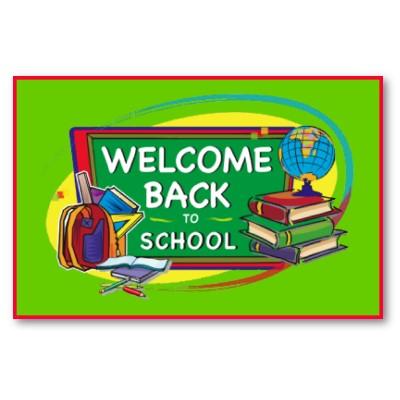The Sweet Seasons: It's School Time!!