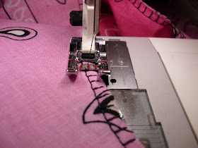 A sewing tutorial for making a handkerchief skirt