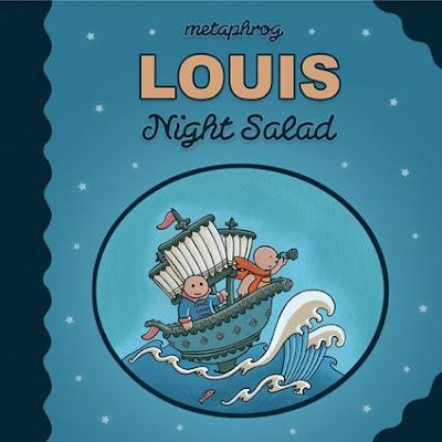 路易斯–夜晚的沙拉很快!